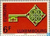 Timbres-poste - Luxembourg - Europe – Clé