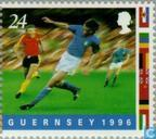 Postage Stamps - Guernsey - European Championship Soccer