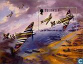 Postage Stamps - Guernsey - D-Day 50 years