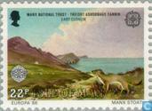 Postzegels - Man - Europa – Natuurbescherming