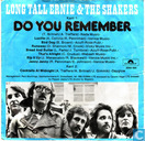 Vinyl records and CDs - Long Tall Ernie & The Shakers - Do You Remember