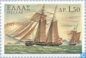 Postage Stamps - Greece - 1821 uprising