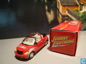 Model cars - Johnny Lightning - Chrysler PT Cruiser Cabriolet 'Coca-Cola'