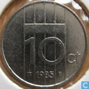 Coins - the Netherlands - Netherlands 10 cents 1985