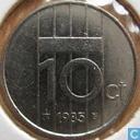 Monnaies - Pays-Bas - Pays-Bas 10 cents 1985