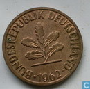 Bundesrepublik Deutschland 1962 (2 pfennig)