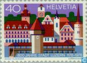 Postage Stamps - Switzerland [CHE] - Lucerne 800 years