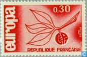 Postage Stamps - France [FRA] - Europe – Twig and Fruit