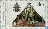 Postzegels - Duitsland, Bondsrepubliek [DEU] - Paus Johannes Paulus II
