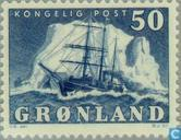 Postage Stamps - Greenland - Sailing Ship