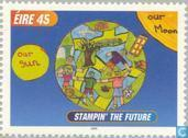 Briefmarken - Irland - Stampin 'the Future