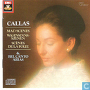 Disques vinyl et CD - Callas, Maria - Mad scenes & Bel canto arias