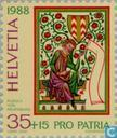 Postage Stamps - Switzerland [CHE] - Minstrels