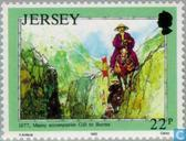 Briefmarken - Jersey - Mesny, William