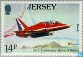 Postage Stamps - Jersey - 1940 Battle of Brittain