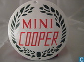 Enamel signs - Logo : Mini Cooper - Emaille Reklamebord : Mini Cooper