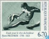 Postage Stamps - France [FRA] - Drawing Pierre-Paul Prud'hon