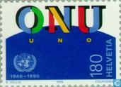 Postage Stamps - Switzerland [CHE] - UNO 50 years