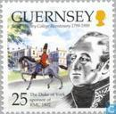 Postage Stamps - Guernsey - Military Academy 1799-1999