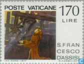 Postzegels - Vaticaanstad - Franciscus van Assisi
