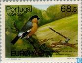 Postzegels - Azoren - Europa – Natuurbescherming