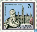 Schmidt, Friedrich Freiherr von 100th year of death