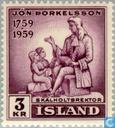 Briefmarken - Island - Þorkelsson, Jón 1874-1954
