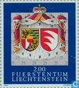 Postage Stamps - Liechtenstein - Frost Pair wedding
