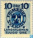 Postage Stamps - Sweden [SWE] - 10 + TJUGO # 20 blue