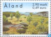 Postage Stamps - Åland Islands [ALA] - Europe – Nature reserves and parks