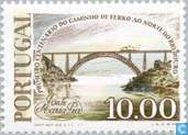Postage Stamps - Portugal [PRT] - 100 years opening North-South train course