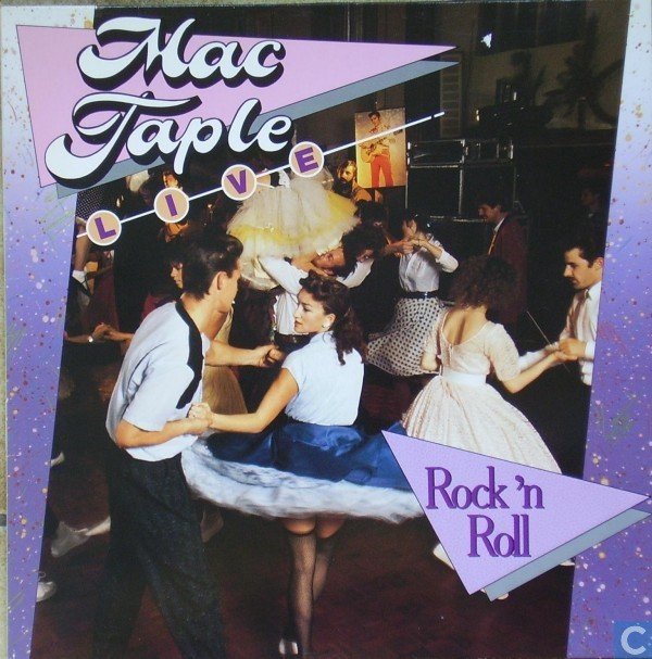 Vinyl records and CDs - Mac Taple - Mac Taple Live