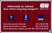 EW Rijnland, Informatie en advies