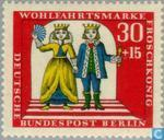 Timbres-poste - Berlin - Frog King