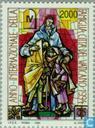 Postzegels - Vaticaanstad - Int. Jaar van het gezin