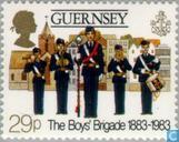 Timbres-poste - Guernesey - Boy's Brigade 1883-1983