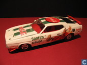 Model cars - Johnny Lightning - Coca-Cola Santa's Pause (kerst)