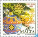Timbres-poste - Malte - Cadeaux de Noël