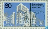 Postage Stamps - Berlin - Int. Construction Exhibition