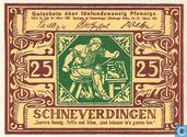 Schneverdingen 25 Pfennig