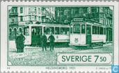 Postage Stamps - Sweden [SWE] - Trams