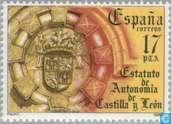 Postzegels - Spanje [ESP] - Autonomie Castilië- Léon