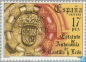 Postage Stamps - Spain [ESP] - Autonomy Castile-Leon