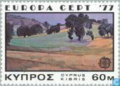 Postage Stamps - Cyprus [CYP] - Europe – Landscapes