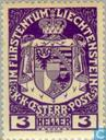 Postage Stamps - Liechtenstein - Empire Arms