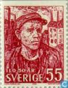 Postzegels - Zweden [SWE] - Arbeidsorganisatie