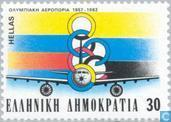 Postage Stamps - Greece - 25 years of Olympic Airways