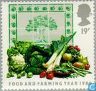 Postage Stamps - Great Britain [GBR] - Year of Food and Farm