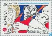 Timbres-poste - Espagne [ESP] - Année sainte de Compostelle