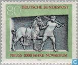 Postage Stamps - Germany, Federal Republic [DEU] - Neuss 16vChr